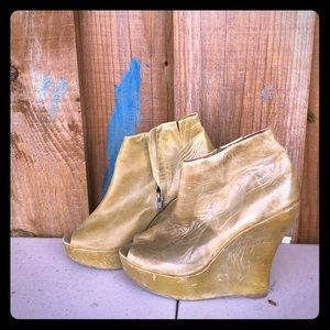 Jeffrey Campbell platform shoes.